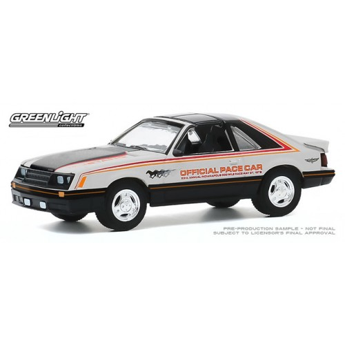 Greenlight Hobby Exclusive - 1979 Ford Mustang Pace Car