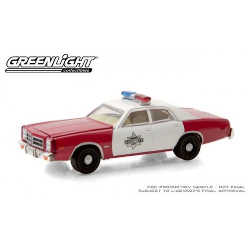 Greenlight Hobby Exclusive - 1977 Dodge Monaco Finchburg County Sheriff