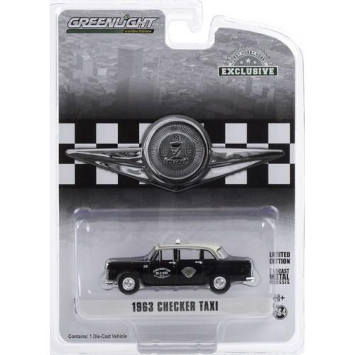 Greenlight Hobby Exclusive - 1963 Checker Motors Marathon A11 Dallas