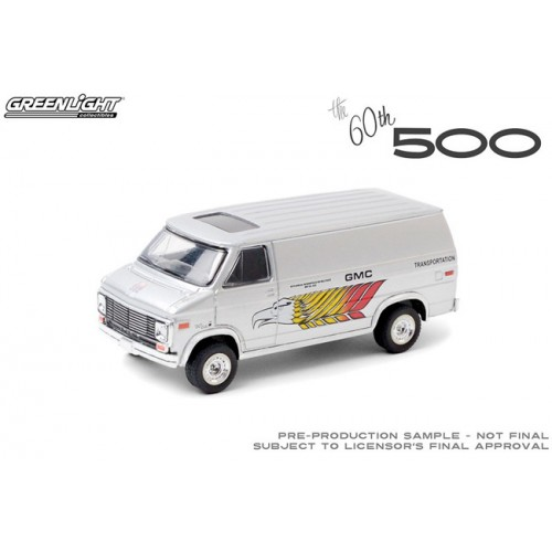 Greenlight Hobby Exclusive - GMC Vandura 60th Indy 500 Transportation