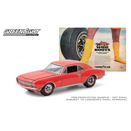 Greenlight Hobby Exclusive - 1967 Chevrolet Camaro Vintage Ad Cars