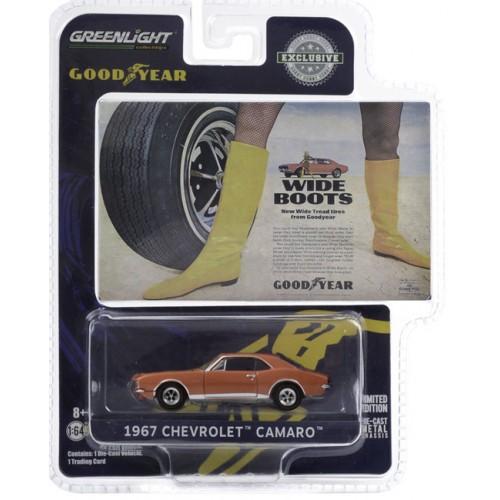 Greenlight Hobby Exclusive - 1967 Chevrolet Camaro Vintage Ad Cars