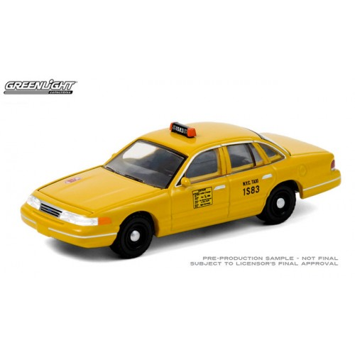 Greenlight Hobby Exclusive - 1994 Ford Crown Victoria NYC Taxi