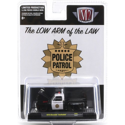 M2 Machines Hobby Exclusive - 1976 Chevy Scottsdale Police Truck