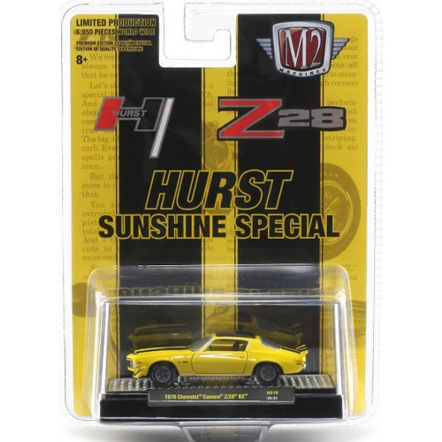 M2 Machines Hobby Exclusive - 1970 Chevrolet Camaro Z/28 RS