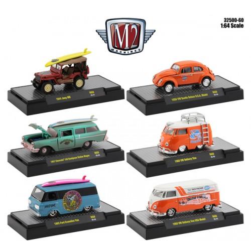 M2 Machines Auto-Thentics Release 60 - Six Car Set
