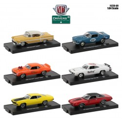 M2 Machines Drivers Release 69 -  Six Car Set