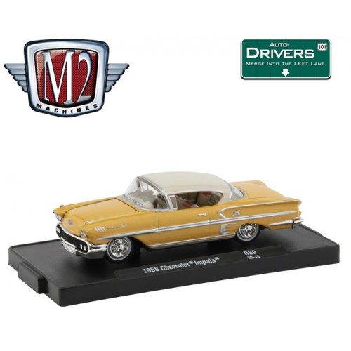M2 Machines Drivers Release 69 -  1958 Chevrolet Impala