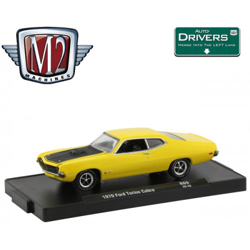 M2 Machines Drivers Release 69 -  1970 Ford Torino Cobra