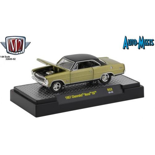 M2 Machines Auto-Meets Release 52 - 1967 Chevrolet Nova SS