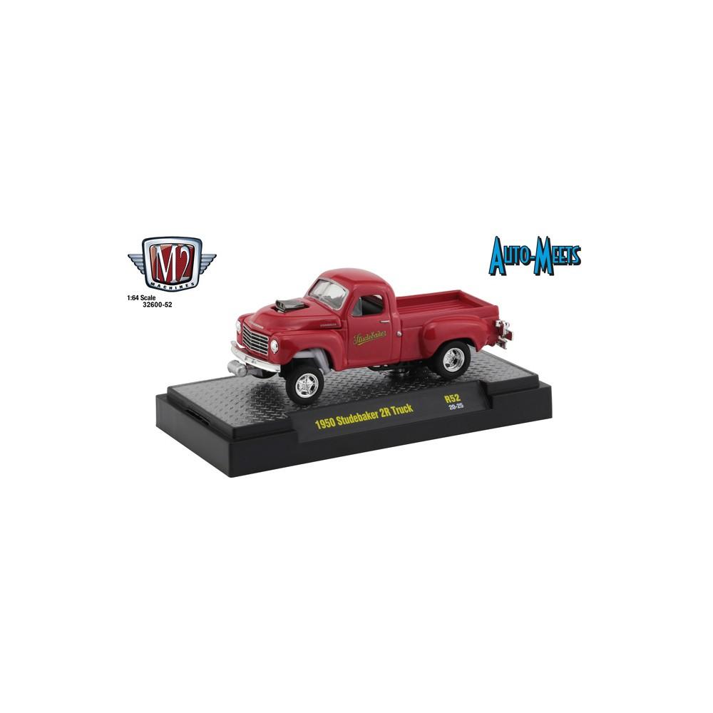 M2 Machines Auto-Meets Release 52 - 1950 Studebaker 2R Gasser
