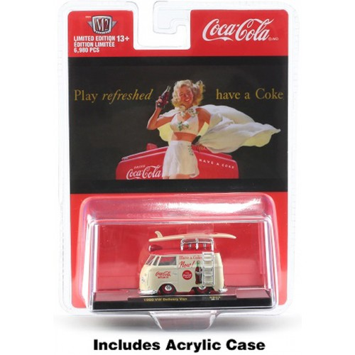M2 Machines Coca-Cola Release BB02 Bathing Beauties - 1960 Volkswagen Delivery Van