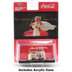 M2 Machines Coca-Cola Release BB02 Bathing Beauties - 1960 Volkswagen Delivery Van