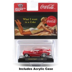 M2 Machines Coca-Cola Release BB02 Bathing Beauties - 1954 Buick Skylark