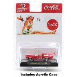 M2 Machines Coca-Cola Release BB02 Bathing Beauties - 1968 Shelby GT500KR