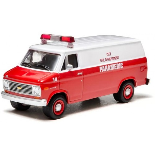 Hobby Exclusive - 1977 Chevy G20 Paramedic Van