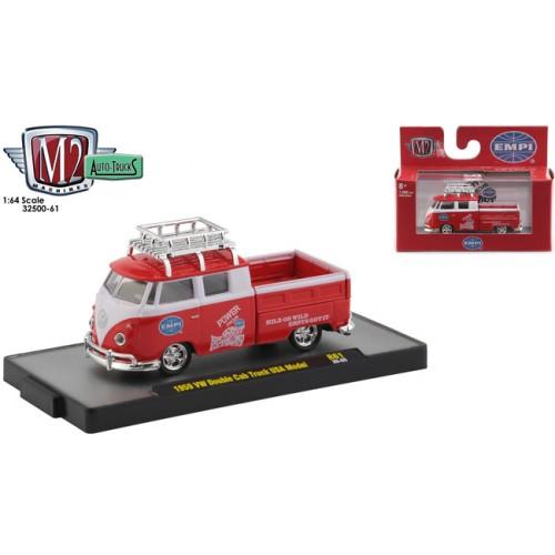 M2 Machines Auto-Trucks Release 61 - 1959 Volkswagen Double Cab Truck