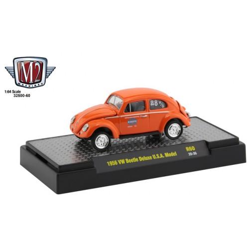 M2 Machines Auto-Thentics Release 60 - 1956 Volkswagen Beetle Deluxe