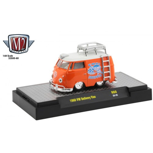 M2 Machines Auto-Thentics Release 60 - 1960 Volkswagen Delivery Van Shorty