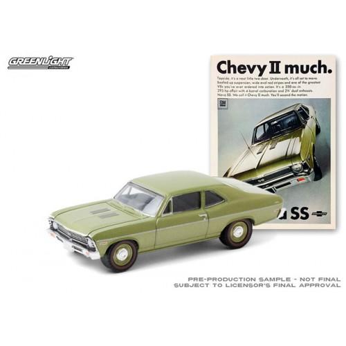 Greenlight Vintage Ad Cars Series 3 - 1968 Chevrolet Nova SS