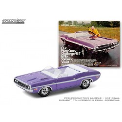 Greenlight Vintage Ad Cars Series 3 - 1970 Dodge Challenger R/T Convertible