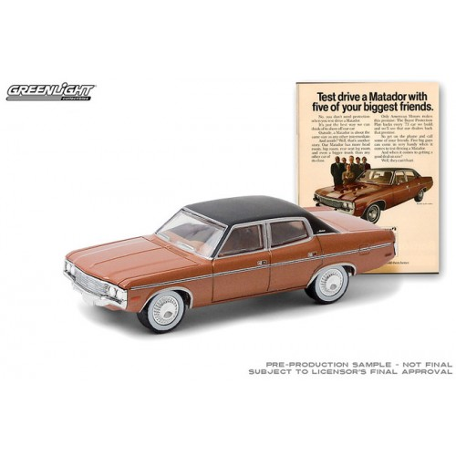 Greenlight Vintage Ad Cars Series 3 - 1973 AMC Matador