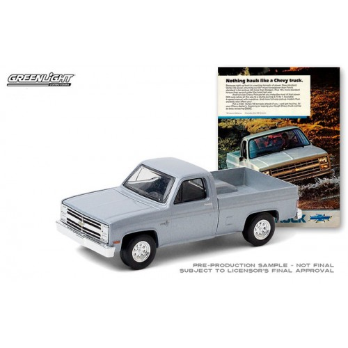 Greenlight Vintage Ad Cars Series 3 - 1985 Chevrolet Truck