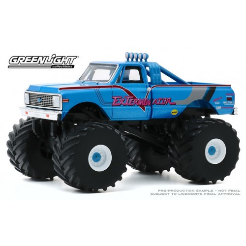 Greenlight Kings of Crunch - 1/43 Scale 1972 Chevy K-10 Monster Truck