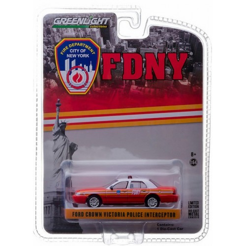 Hobby Exclusive - 2011 Ford Crown Victoria FDNY