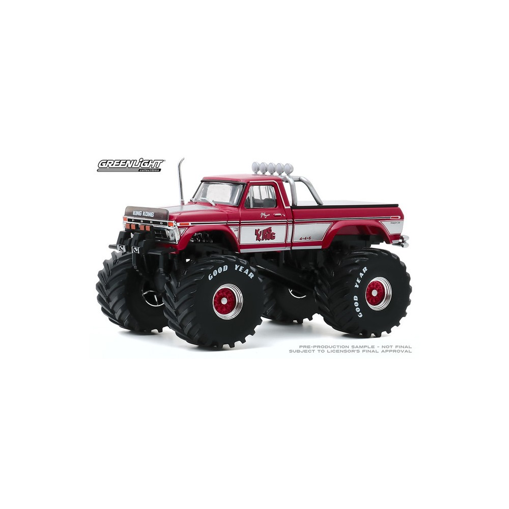 Greenlight Kings of Crunch - 1/43 Scale 1975 Ford F-250 Monster Truck