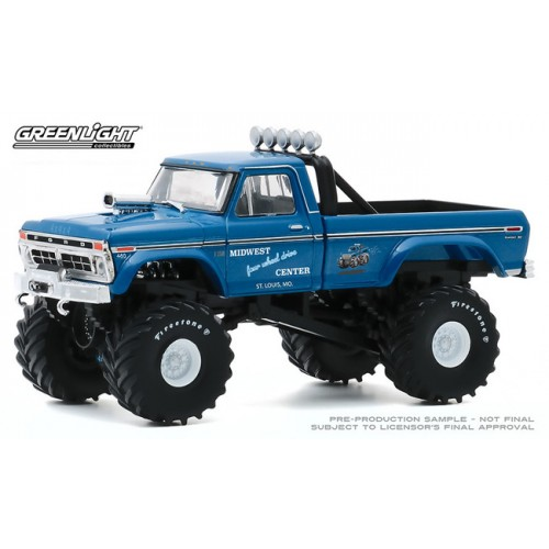 Greenlight Kings of Crunch - 1/43 Scale 1974 Ford F-250 Monster Truck