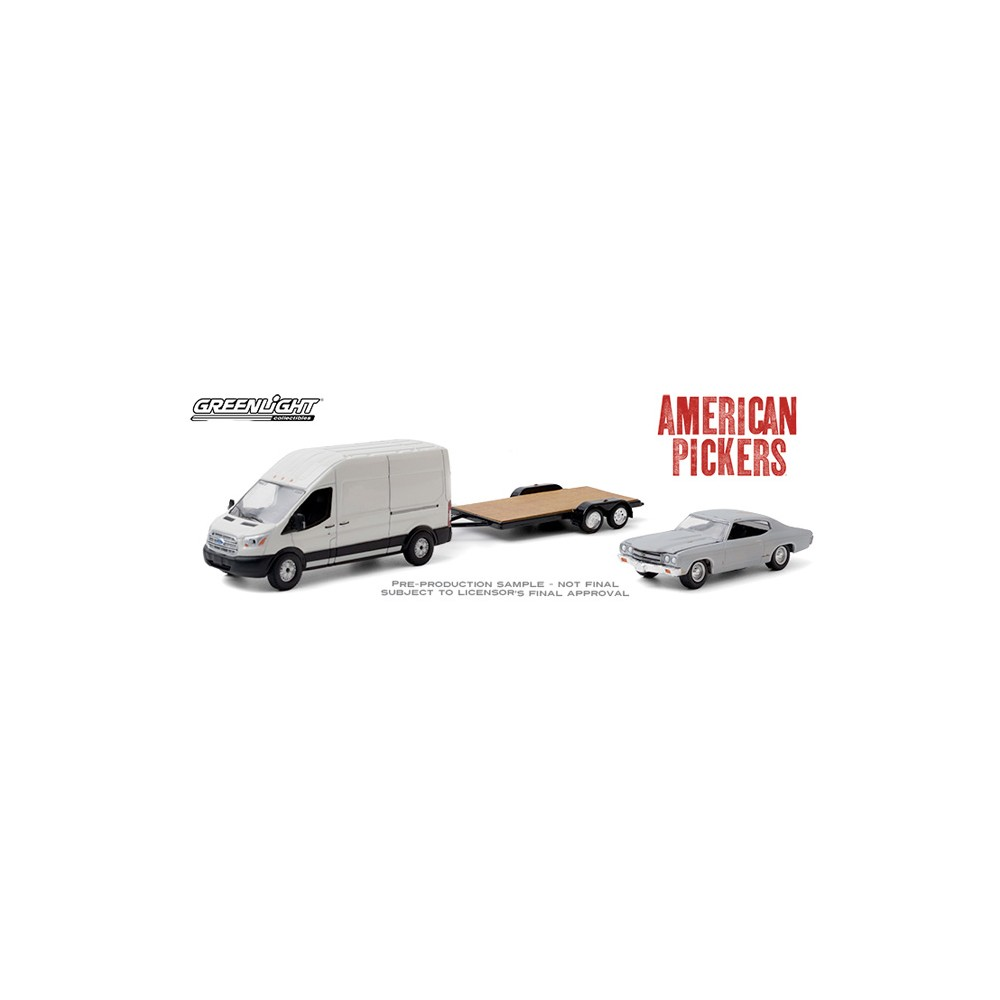 Greenlight Hollywood Hitch and Tow Series 8 - 2015 Ford Transit American Pickers