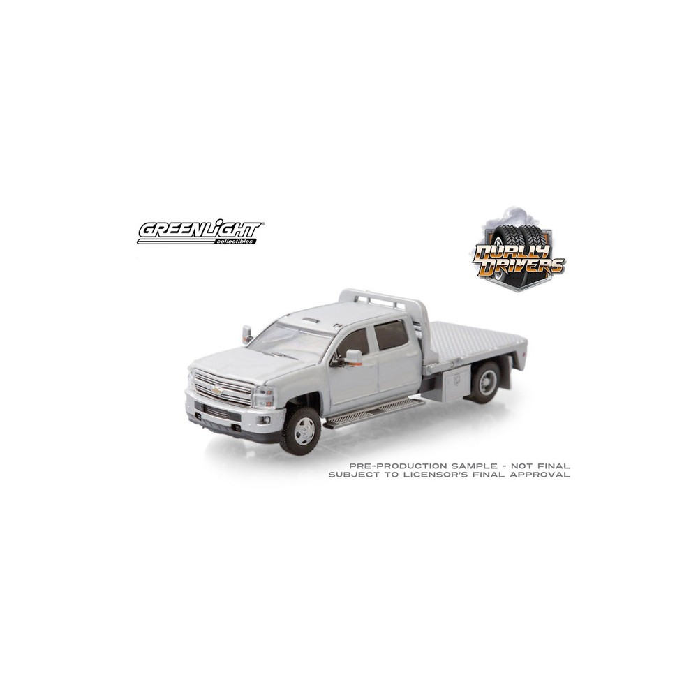 Greenlight Dually Drivers Series 5 - 2015 Chevrolet Silverado 3500 Dually Flatbed