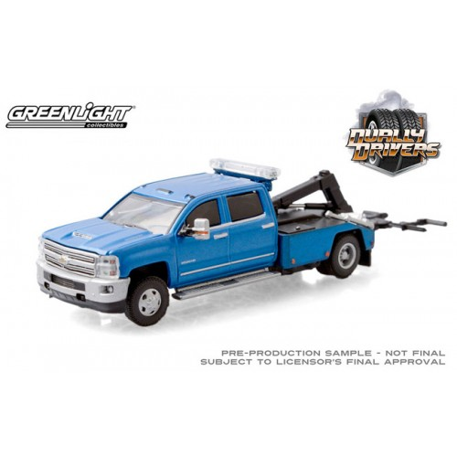 Greenlight Dually Drivers Series 5 - 2018 Chevrolet Silverado 3500 Dually Wrecker