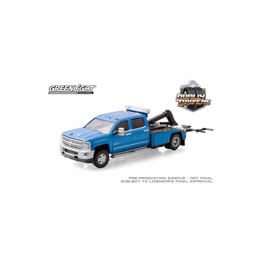 Greenlight Dually Drivers Series 5 - 2018 Chevrolet Silverado 3500 Dually Wrecker