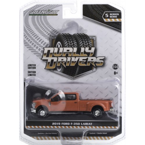 Greenlight Dually Drivers Series 5 - 2019 Ford F-350 Dually Truck
