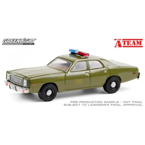 Greenlight Hollywood Special Edition - The A-Team 1977 Plymouth Fury