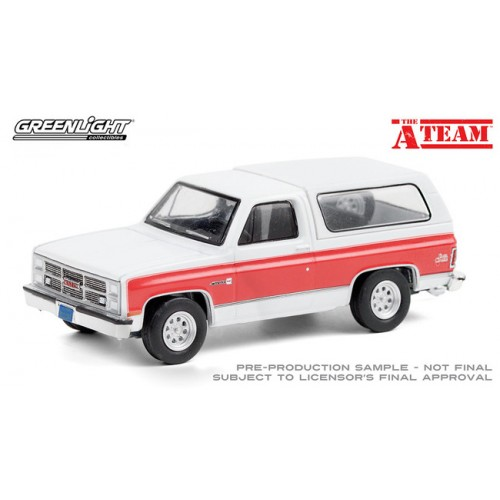 Greenlight Hollywood Special Edition - The A-Team 1983 GMC Jimmy