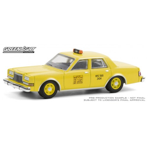 Greenlight Hobby Exclusive - 1984 Dodge Diplomat NYC Taxi