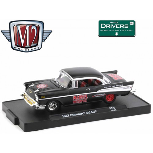 M2 Machines Drivers Release 68 - 1957 Chevy Bel Air