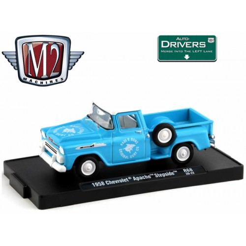 M2 Machines Drivers Release 68 - 1958 Chevy Apache Step Side Truck