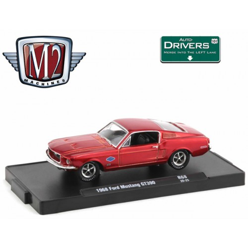 M2 Machines Drivers Release 68 - 1968 Ford Mustang GT 390