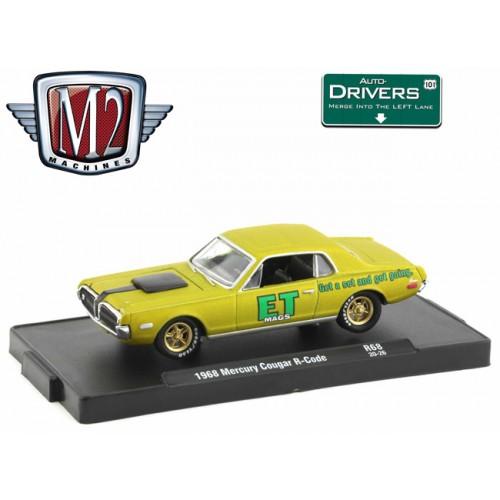 M2 Machines Drivers Release 68 - 1968 Mercury Cougar R-Code