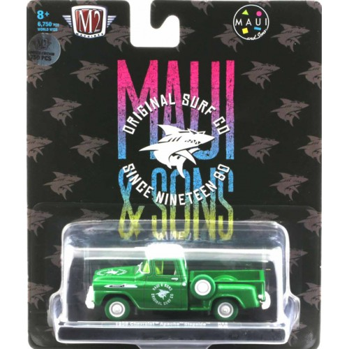 M2 Machines Drivers Release 68 - 1958 Chevy Apache Step Side Truck CHASE VERSION