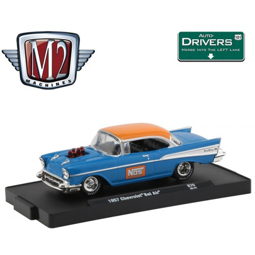 M2 Machines Drivers Release 70 - 1957 Chevy Bel Air