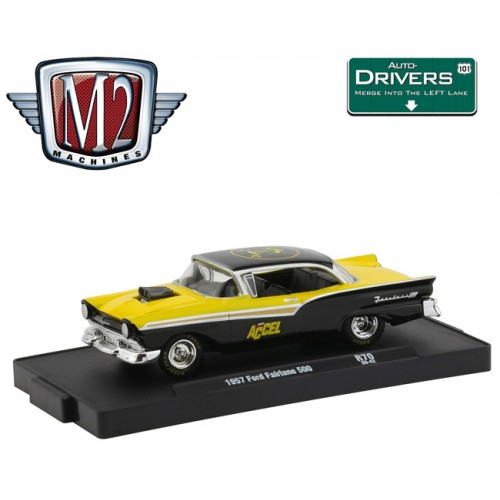 M2 Machines Drivers Release 70 - 1957 Ford Fairlane 500