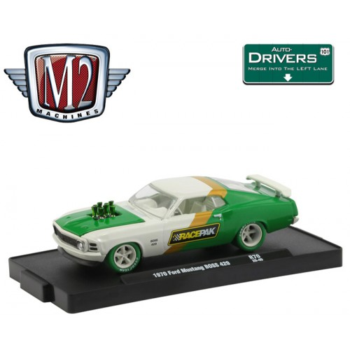 M2 Machines Drivers Release 70 - 1970 Ford Mustang BOSS 302 CHASE VERSION