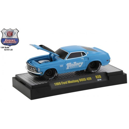 M2 Machines Ground Pounders Release 20 - 1969 Ford Mustang BOSS 429