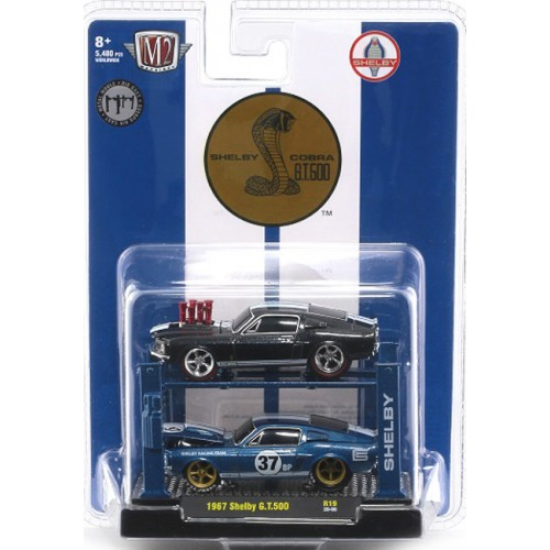 M2 Machines Auto-Lift Release 19 - 1967 Shelby G.T. 500 Set