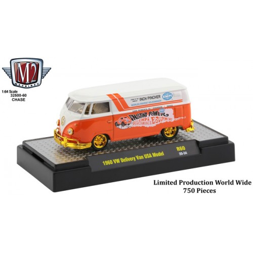 M2 Machines Auto-Thentics Release 60 - 1960 Volkswagen Delivery Van CHASE VERSION